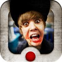 Video Scare Prank - Justin Bieber Edition
