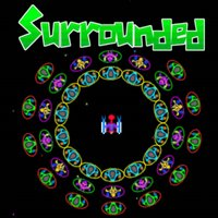 Surrounded Invaders in Space