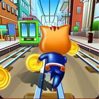 Subway Cat Hero