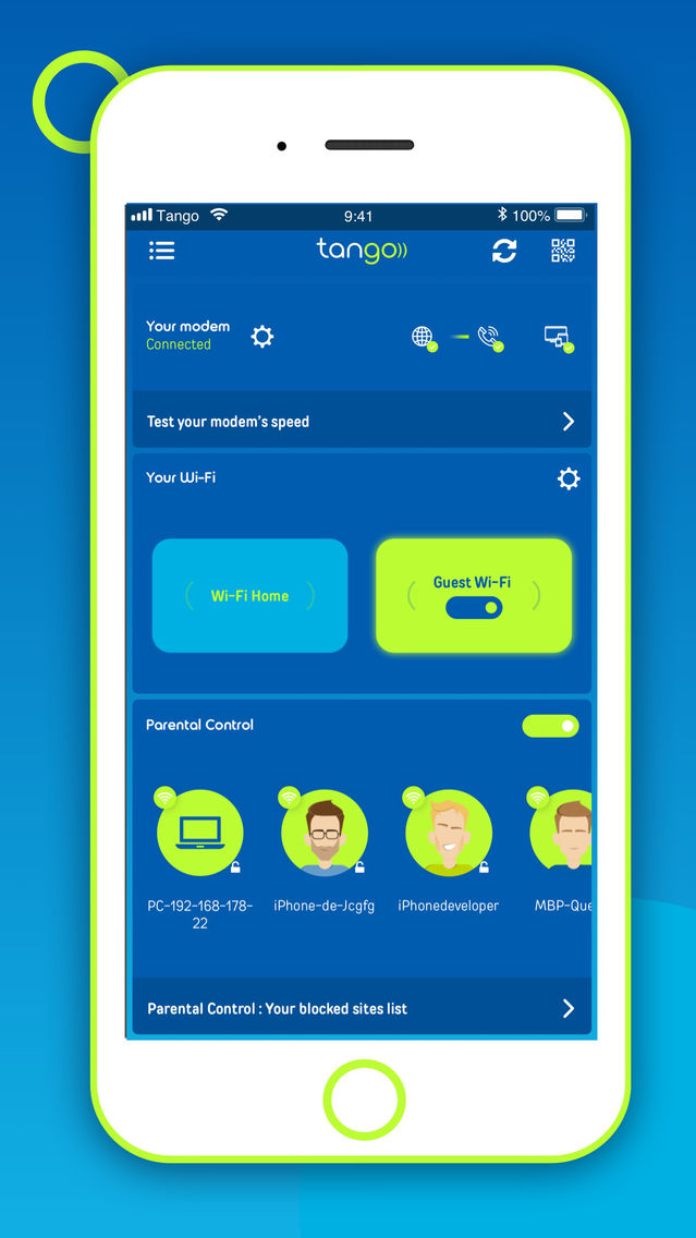 My Tango Wifi App for iPhone - Free Download My Tango Wifi