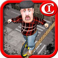 Tightrope Unicycle Master 3D
