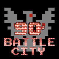 Battle City : Back to 90's tank