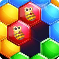 Bee Hex Block 2