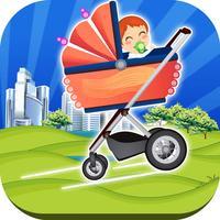 Cool Runaway Baby Stroller Race FREE