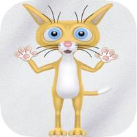 Talking Calvin The Crazy Kitty Cat