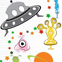 Super SpaceCraft Fun Matching Shooting Alien Monster