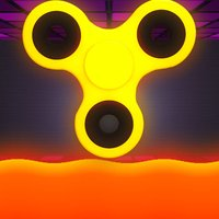 Fidget Spinner Wheel Arcade Game The Floor is Lava