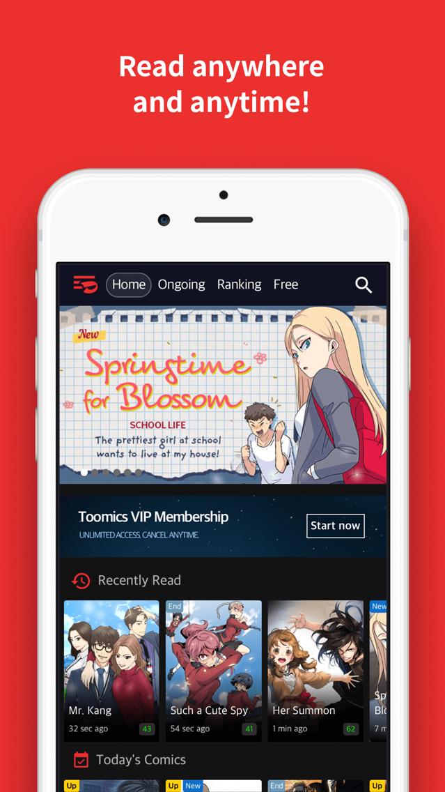 Toomics - Unlimited Comics App for iPhone - Free Download