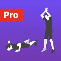Burpee HIIT functional workout