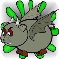 Monster Zombie Pigs Soar