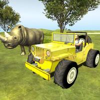 Parking Adventure In Animals Jungle Arena