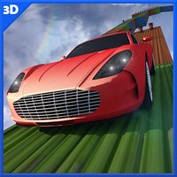 Impossible 3D Car Tracks Drive