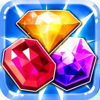 Blitz Jewel's Match-3 - diamond game and kids digger's quest hd free