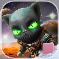 Black Fate Star Luck - FREE - Sci-Fi Cat Endless Street Runner Escape Game