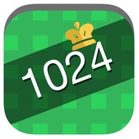 1024+ Free Math Puzzle Game (easier than 2048)