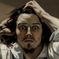 Gustave Courbet Painting for iMessage