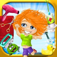Cooties Doctor - All In One : Dress up , Hair Salon , Bath , Dentist , Nail Trim , Spa , Paint , Puzzles , Memory Match and more...