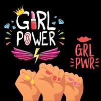 Girl Power Stickers!