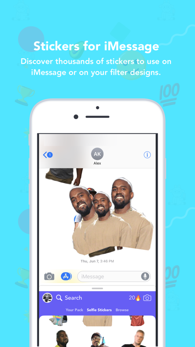 FilterPop for Snapchat App for iPhone - Free Download
