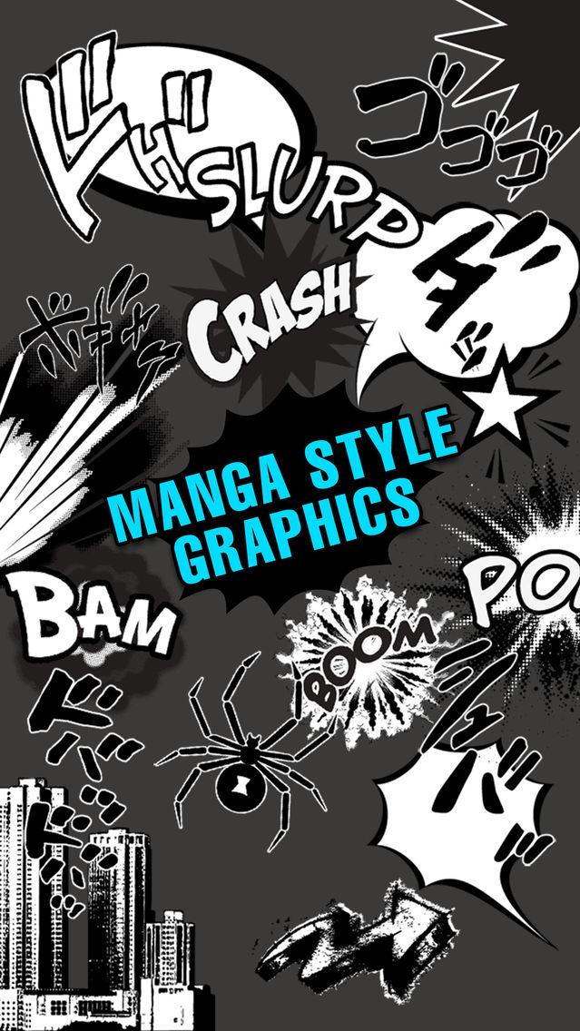 Comic Book Camera free App for iPhone - Free Download Comic Book