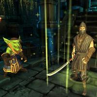 Samurai Ninja Survival War in Dark Temple
