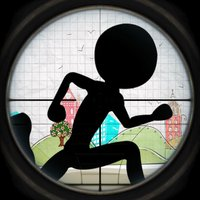 A Brave Stick-man's Dead-ly Run : Avoid-ing the Snipe-r Shoot-er Free