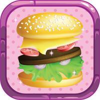Burger Rush cooking Dash - Burger shop food games!