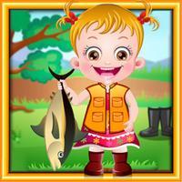Baby Hazel : Fishing Time