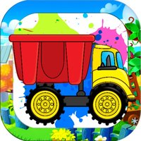 Drawing Car and Trucks Coloring Book for Kids Game