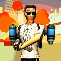 Avenger Hammer - Be the hero of City of Crime with Police Cars, Airplanes, Jetpack and Helicopters