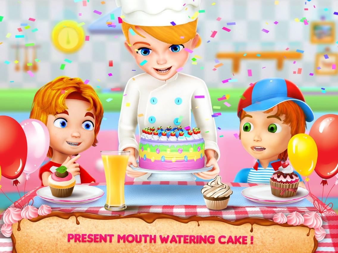 Making Birthday Cake App