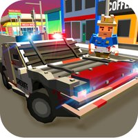 Pixel Police Car - Cop Chase