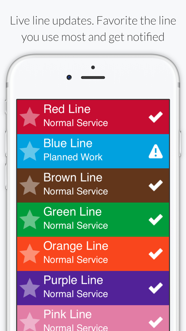 Chicago L - Subway Map App for iPhone - Free Download Chicago L ...