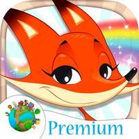 Paint animal coloring book for kids - Premium