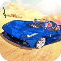 Desert Cars Sport Driving