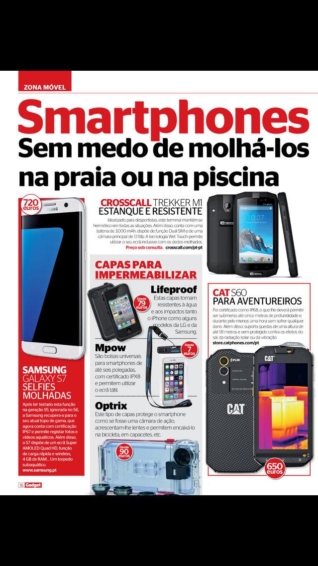 Gadget revista (Português) App for iPhone - Free Download Gadget