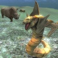 Rhino Simulator vs Aliens wild