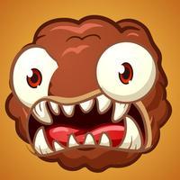 Monster Meatball Dash: Baby Bird Running Kids Game