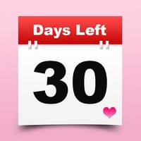 Event Countdown Days Left Counter - Date Reminder Widget, Counting Clock Timer, and Calendar Wallpaper App