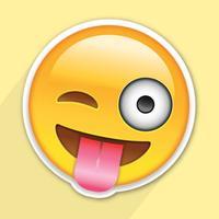 Fun Emoji Faces Hop