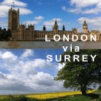 London via Surrey