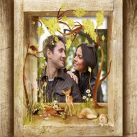 Holiday With Nature Photo Frame