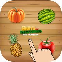 Kids Fruit Vegetable Name Practice Spelling Words