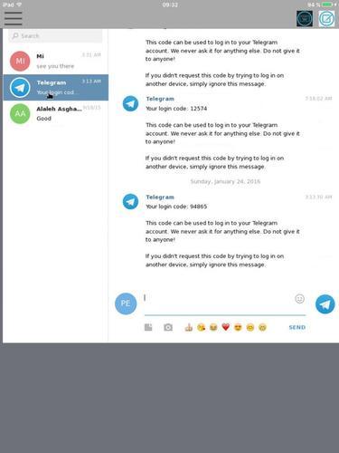 TalkGram Unofficial Telegram App for iPhone - Free Download