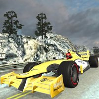 Snow Hill Auto Racing Car Game