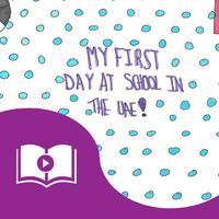 UAE Safa School. My First Day at School in the UAE