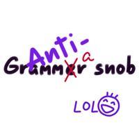 Anti-Grammar Snob Sticker Pack