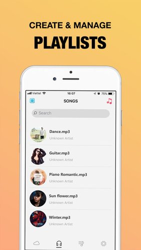 Sound Offline Player App for iPhone - Free Download Sound