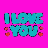 Love You Stikcers