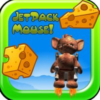 Jet-Pack Cute Mouse Cheese Game